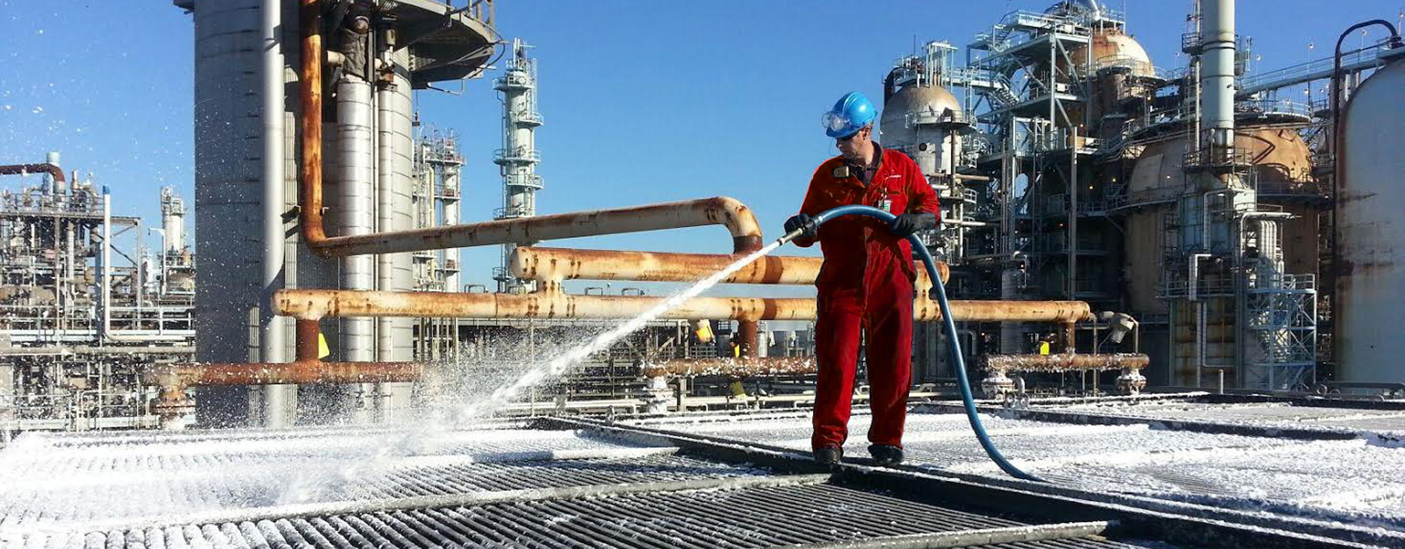 Chemical Cleaning Services : Industrial cleaning service thai nam